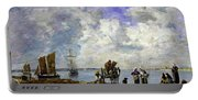 Fishermens Wives At The Seaside - Digital Remastered Edition Portable Battery Charger
