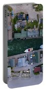 Fishtown Dam Panorama From Above Portable Battery Charger