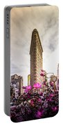 Flatiron And Flowers Portable Battery Charger