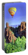 Flight Over Thumb Rock Portable Battery Charger