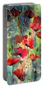 Floral Abracadabra Portable Battery Charger