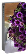 Floral Porch Sitting Portable Battery Charger