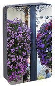 Flowers In Balance Portable Battery Charger
