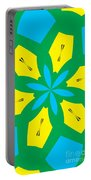 Flowers Number 36 Portable Battery Charger