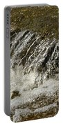 Flowing Water Over Rocks Portable Battery Charger