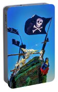 Flying The Pirates Colors Portable Battery Charger