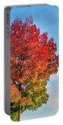 Foliage In Flanders Portable Battery Charger