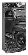 Ford F4 Tow The Truck Hook And Book Black And White Portable Battery Charger