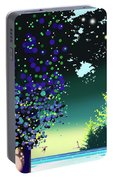 Forest Morning Portable Battery Charger