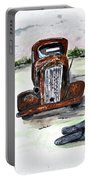 Former Bootlegger Portable Battery Charger by Clyde J Kell