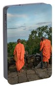 Four Monks And A Phone. Portable Battery Charger