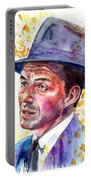 Frank Sinatra Singing Portable Battery Charger