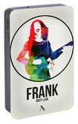 Frank Zappa Watercolor Portable Battery Charger