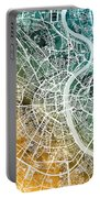 Frankfurt Germany City Map Portable Battery Charger