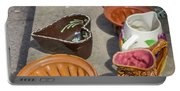 French Flea Market Pottery Portable Battery Charger