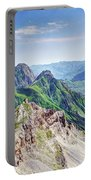 French Village In The Pyrenees Portable Battery Charger