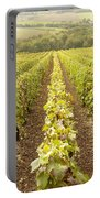 French Vineyards Of The Champagne Region Portable Battery Charger