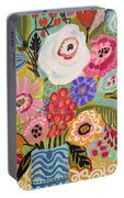 Fresh Flowers In Vase II    Portable Battery Charger