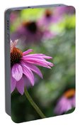 Frilly Hat Echinacea Portable Battery Charger