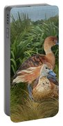 Fulvous Whistling Ducks  Portable Battery Charger