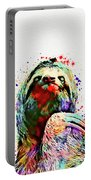 Funny Sloth Portable Battery Charger