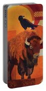 Fur And Feathers Portable Battery Charger