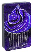Galactic Universe Cupcake Portable Battery Charger