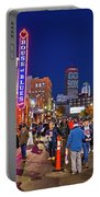 Game Night On Lansdowne Street 2018 World Series Red Sox Boston Ma 2 Portable Battery Charger