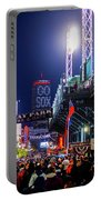 Game Night On Lansdowne Street 2018 World Series Red Sox Boston Ma Portable Battery Charger
