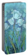 Garden Of Healing Portable Battery Charger by Shadia Derbyshire