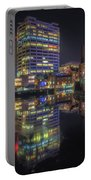 Gas Street Basin At Night Portable Battery Charger