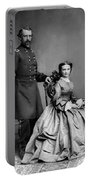 General Custer And His Wife Libbie Portable Battery Charger