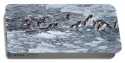 Gentoo Penguins By Alan M Hunt Portable Battery Charger