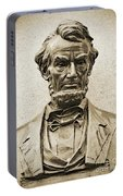 Gettysburg Battlefield - President Abraham Lincoln Portable Battery Charger