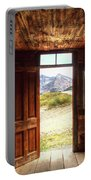 Ghost Town Cabin Portable Battery Charger