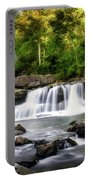 Glade Creek Grist Mill Waterfall Portable Battery Charger