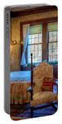 Glensheen Chester's Bedroom Portable Battery Charger by Susan Rissi Tregoning