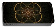 Gold Inlay Portable Battery Charger