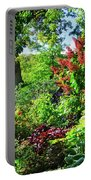 Gorgeous Gardens At Cornell University - Ithaca, New York Portable Battery Charger
