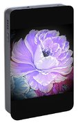 Gorgeous Rose In Purple  Portable Battery Charger