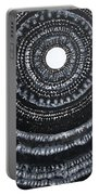 Gothic Waves Original Painting Portable Battery Charger
