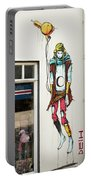 Graffiti By Deih In Reykjavik Portable Battery Charger
