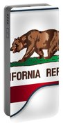 Grand Piano California Flag Portable Battery Charger