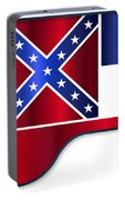 Grand Piano Mississippi Flag Portable Battery Charger