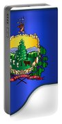 Grand Vermont Flag Portable Battery Charger