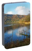 Grasmere In Late Autumn In Lake District National Park Cumbria Portable Battery Charger