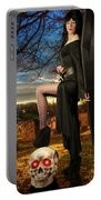 Grave Sunset Portable Battery Charger