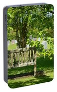 Graveyard Bench Portable Battery Charger