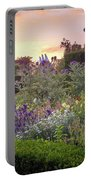 Great Dixter Perennial Border Portable Battery Charger by Perry Rodriguez