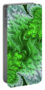 Green Frosty Canyon Portable Battery Charger